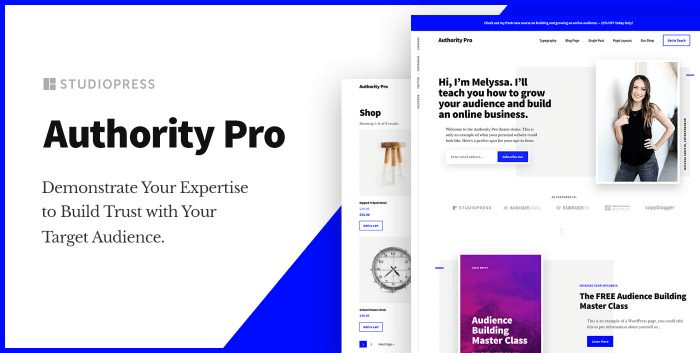 Authority Pro by StudioPress