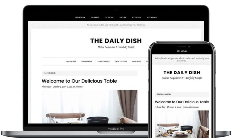 Daily Dish Pro by StudioPress